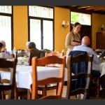 Restaurante Fortún en el hotel.